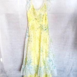 1970s IGLWU, Off the Shoulder, Prom dress